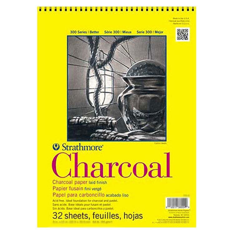 Charcoal and Pastel Pads / Rolls