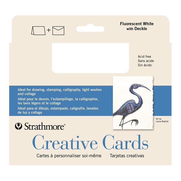 Strathmore Blank Greeting Cards -  Economical Bulk Packs / Assorted Styles