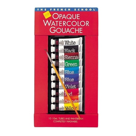 Gouache Opaque Watercolor Paint -  Sets