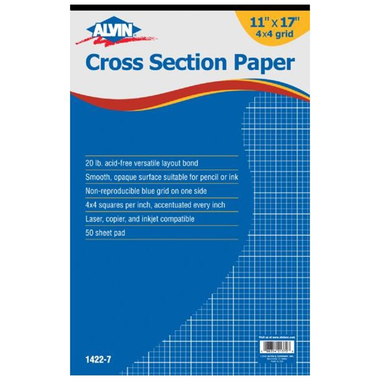 Cross Section Paper Pads