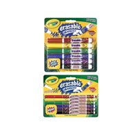 Crayola Erasable Markers Amp Colored Pencils Value Pack