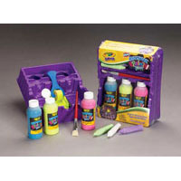 Crayola Sidewalk Paint Tray Set