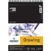Canson Pure White Drawing Pads