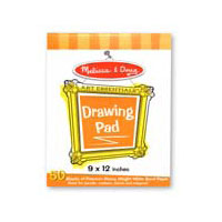 "Melissa & Doug Children's Drawing Pad 9"" x 12"""