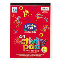 Reeves 4 in 1 Activity Pad