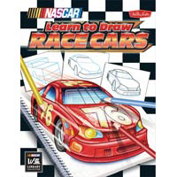 Walter Foster Learn to Draw NASCAR Race Cars Book
