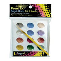 Jacquard Pearl-Ex Watercolor CD Set
