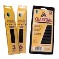 Art Alternatives Natural Vine Charcoal & Charcoal Drawing Sticks