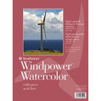 Strathmore Windpower Watercolor Paper Pads & Sheet Pack