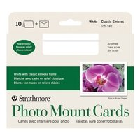 Strathmore Blank Photo Mount Greeting Cards Bulk - 100 Pack