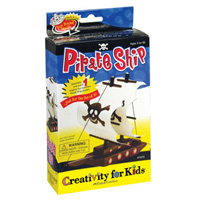 Creativity for Kids Mini Activity Kit Make Your Own Pirate Ship