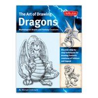 Walter Foster The Art of Drawing Dragons, Mythological Beasts, and Fantasy Creatures