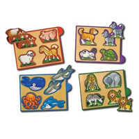 Melissa & Doug Mini Puzzle Pack
