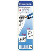 Staedtler Lumograph Drawing Pencil Sets- Tins