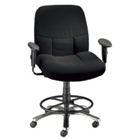 Alvin® Olympian Drafting Comfort Chair - CH300-40DH