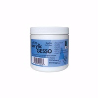 Art Alternatives White Acrylic Gesso – Wide Mouth Pint Jar