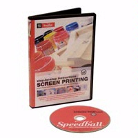 Step-by-Step Instructions Screen Printing DVD