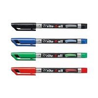 Stabilo Write-4-All Fine-Tip Pens Permanent Markers – Set & Open Stock