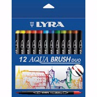 Lyra Aqua Brush Duo Ink Pen Sets