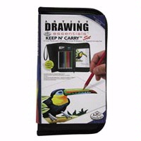 Royal Keep N' Carry Artist Drawing Set In Zippered Case