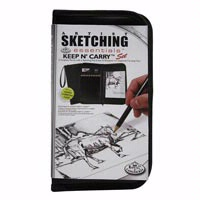 Royal Keep N' Carry  Artist Sketching  Set in Zippered Case