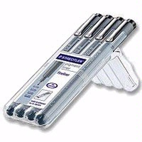 Staedtler Pigment Liner Set of 4