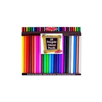 Melissa & Doug Jumbo Triangular Colored Pencil 24ct