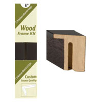 nielsen bainbridge wood frame kits matte black