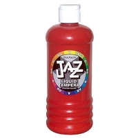 Jazz Jr.Washable Tempera Paint Regular Colors - 16 oz Bottles
