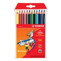 Stabilo Trio Thick Colored Pencil Sets