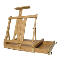 Art Alternatives Ravenna Bamboo Eco-Friendly Table Top Sketch Box Easel