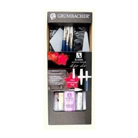 Grumbacher Academy Messenger Bag Acrylic or Oil Painting Set