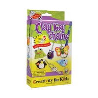 Creativity for Kids Clay Key Chains Kit
