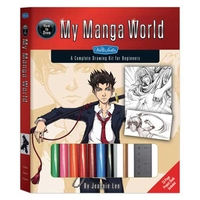 Walter Foster How to Draw My Manga World - Kit