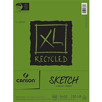 Canson XL® Recycled Sketch Pads