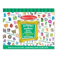Melissa & Doug Sticker Collection Alphabet & Numbers
