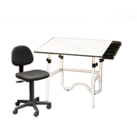 Alvin 3-Piece Desk Creative Center CC2001A3 (White Onyx)