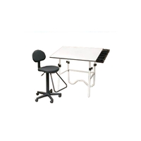 Alvin 3-Piece Drafting Creative Center CC2001E3 (White Onyx Table)