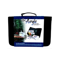 Royal Keep & Carry Large Acrylic Paint Set - In Zippered Case