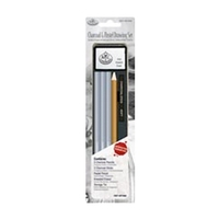 Royal Mini Tin Art Set - Charcoal & Pastel Pencil Set