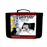 Royal Keep & Carry Large Artist Set Watercolors - In Zippered Case