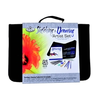 Royal Keep & Carry Large Sketching & Drawing Set - In Zippered Case