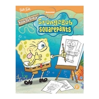 How to Draw and Animate Nickelodeon's SpongeBob SquarePants Books