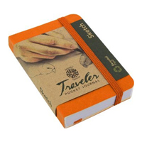 Pentalic Traveler Pocket Sketch Book Journal