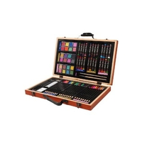 Studio 71 Deluxe Wood Box Art Set - 80 Pieces