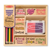 Melissa & Doug Kid's Stamp Sets