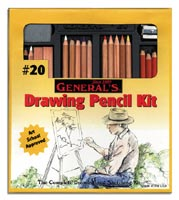 General's #20 Large Drawing Pencil Set