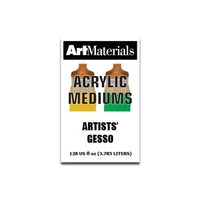 Art Materials Artists' Gesso 128oz