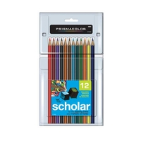 Prismacolor Scholar Color Pencil Set - 12 Colors