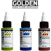 Golden High Flow Acrylics 1oz Bottle